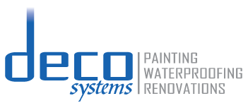 Logo for DECO SYSTEMS – Painting | Waterproofing | Renovations
